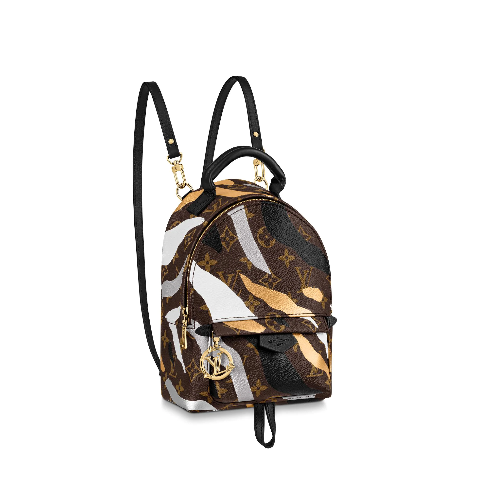 Louis Vuitton LV x LOL Palm Springs Mini Monogram Camouflage Backpack