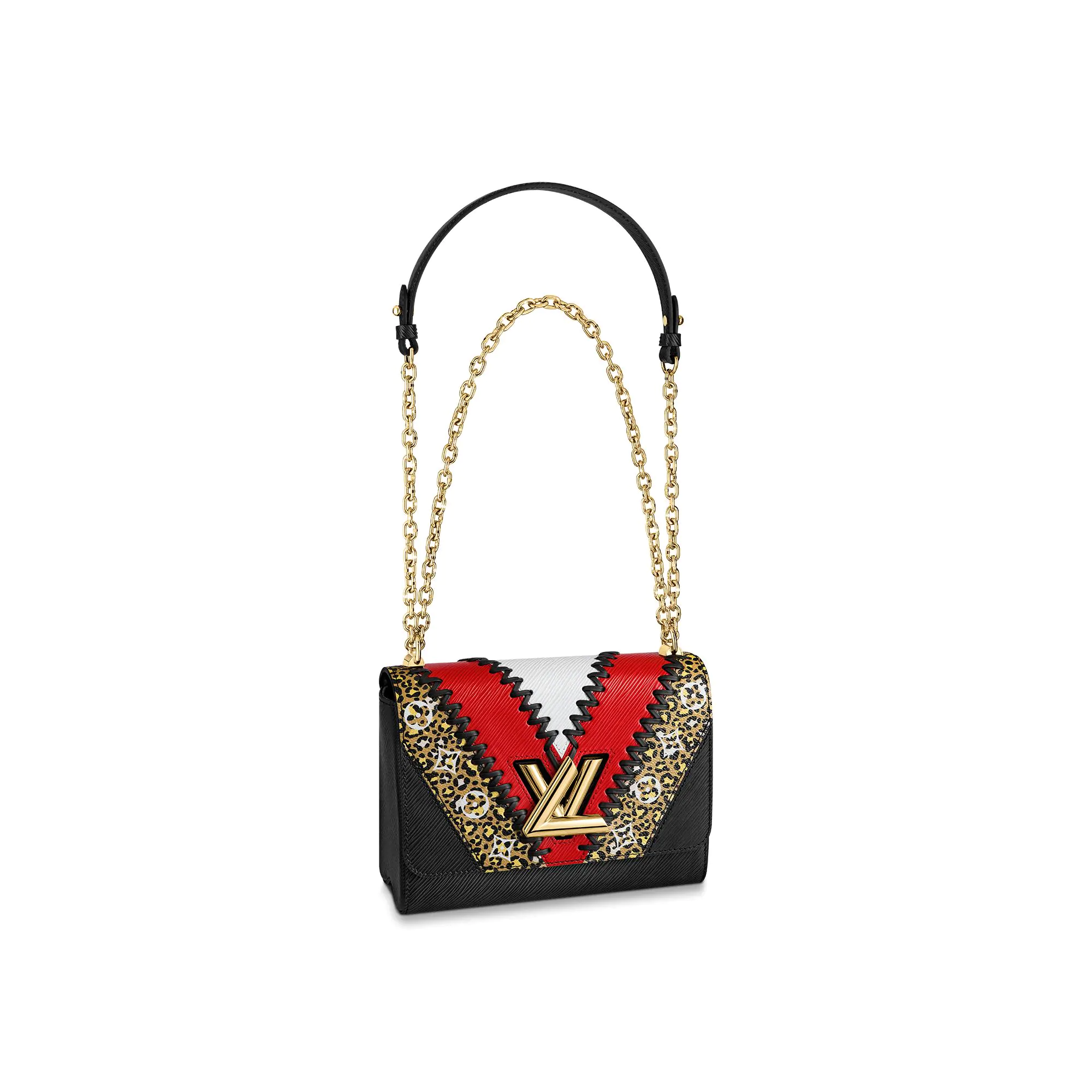Louis Vuitton Twist MM in Animal Print V Epi Leather M53926