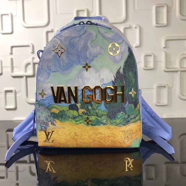 Louis Vuitton Palm Springs Backpack Masters LV X Koons M43374