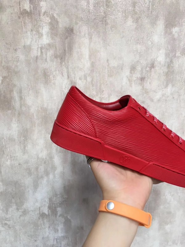 Louis Vuitton Red Concorde Sneaker