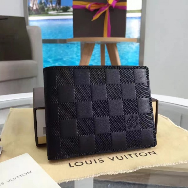 Louis Vuitton Multiple Wallet Damier Infini N63124