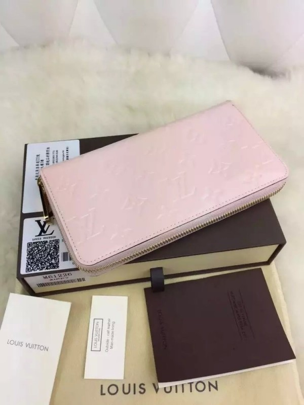 Louis Vuitton Zippy Wallet Monogram Vernis M61226
