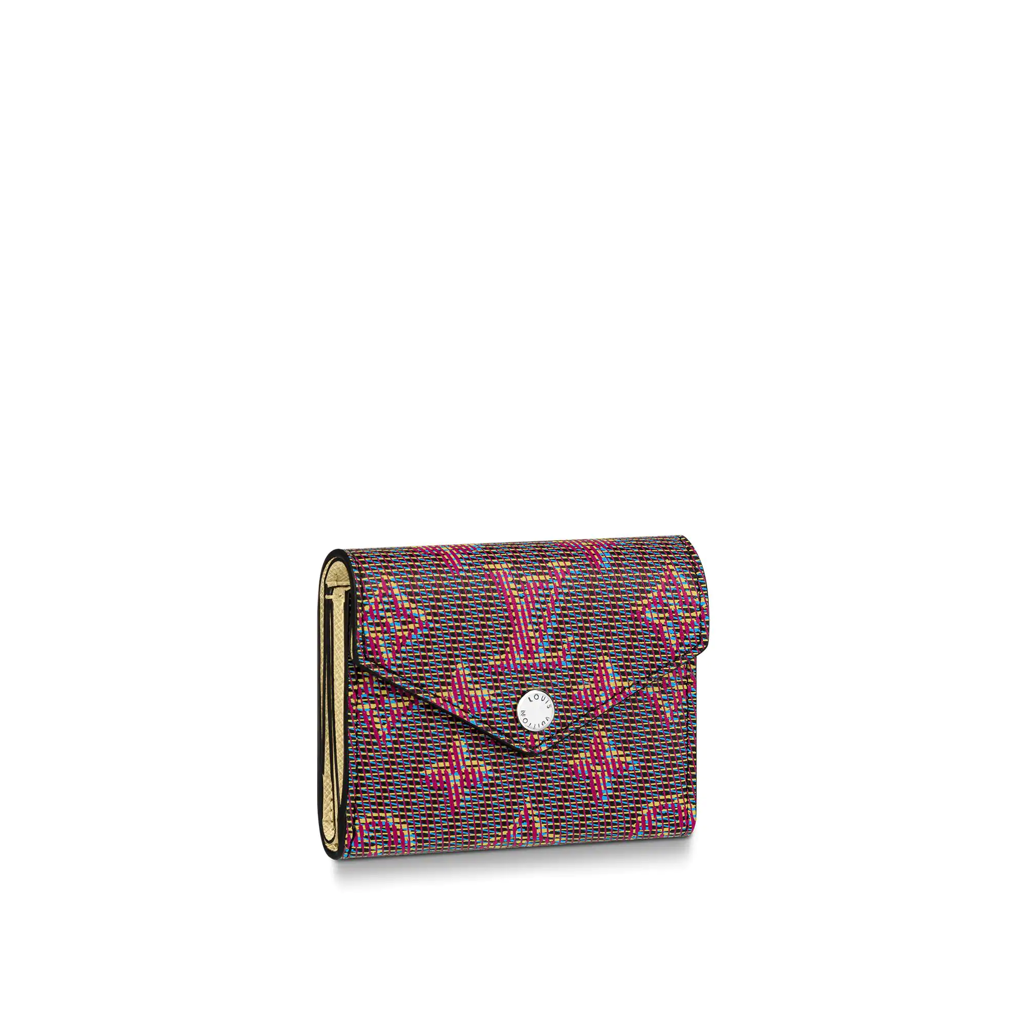 Louis Vuitton Monogram LV Pop Zoe Flap Wallet M68673 Red